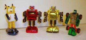 Minicar Robot Modes