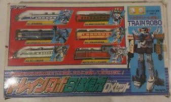 Vintage-Takara-Diaclone-TRAIN-ROBO-DX-6-Giftset
